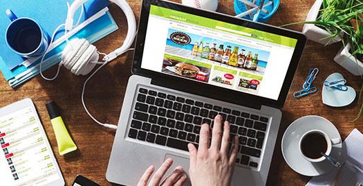Shopify web store