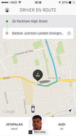 uber driver information