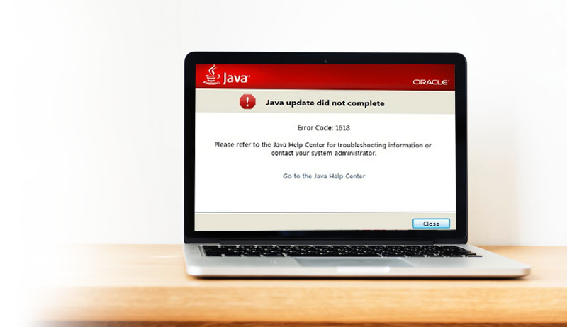 java error code 1618 (Causes and Solution) - Code XOXO