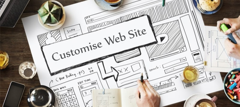 We Customise WebSite To Your Taste